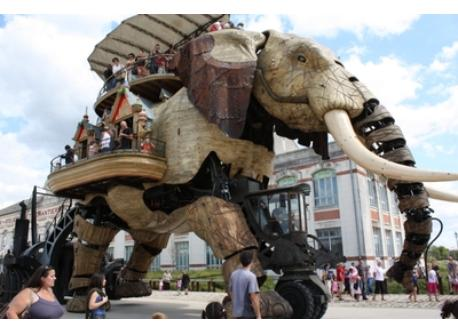 elephant in Nantes