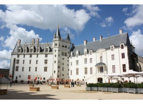 Anne de Bretagne Castle in Nantes