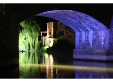 Clisson by night
