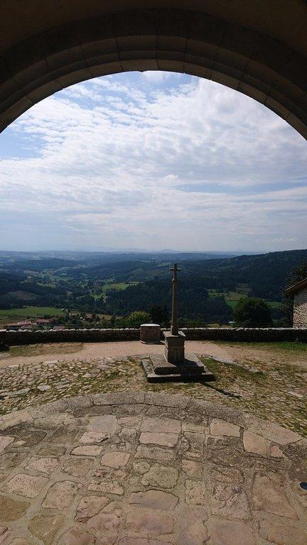 Montarcher : Eglise de l'assomption de la Vierge (20 km)