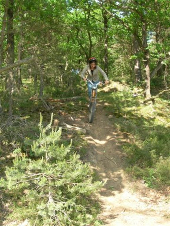 Saint Paul en Jarez : descente en trotinette (45 km)