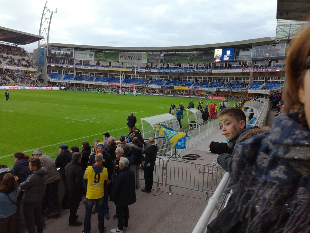 Match de Rugby à Clermont Ferrand