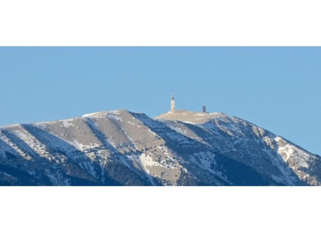 Le Mont Ventoux (1 heure de route)