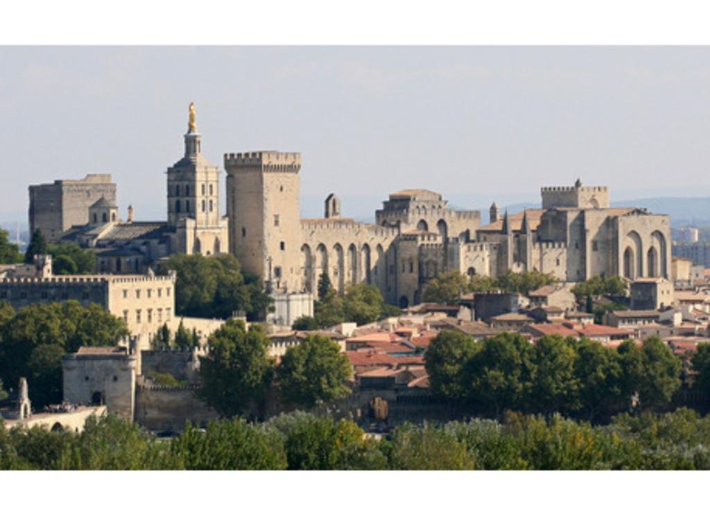 La ville d'Avignon (10 minutes à pied)