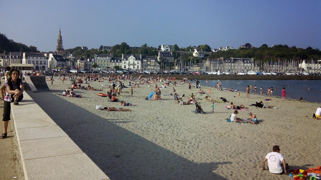 Binic, La Banche (beach)