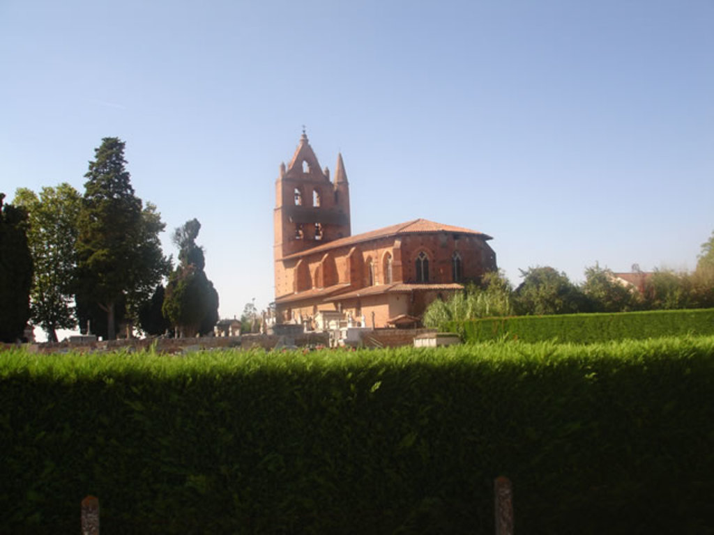 We see this typical church from our home !