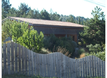 Wood house in the South of France