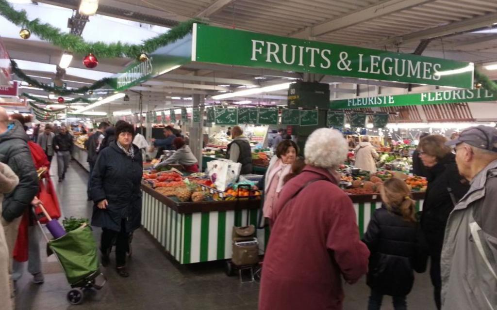 le marché du Pré Saint Gervais