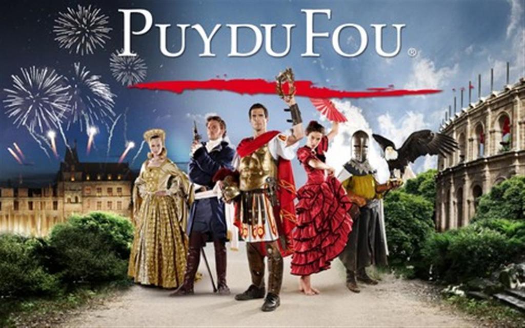 Le Puy du Fou : fantastic amusement park and outside show,