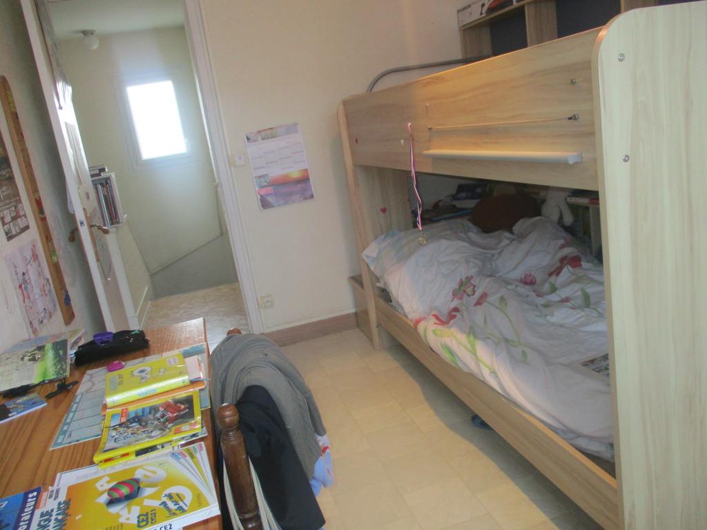 Bedroom 1 with bunk beds