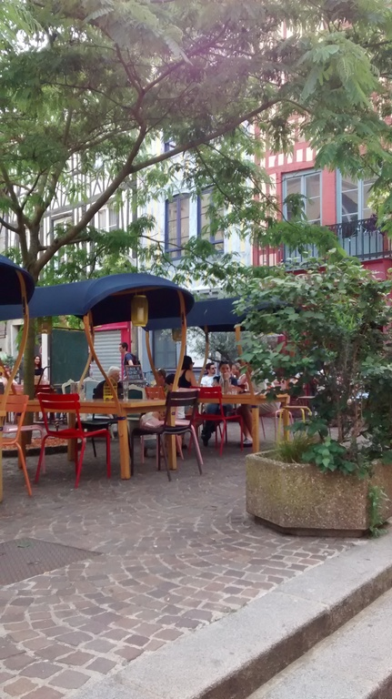 a nice little place in Rouen
