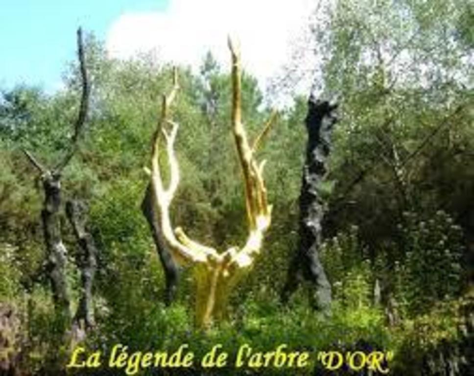 Arbre d'Or à Tréhorenteuc - Forêt de Brocéliande et ses légendes (à 20 minutes)