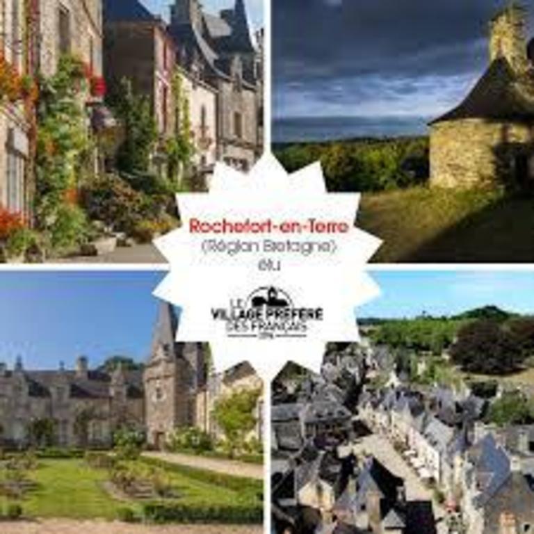 Rochefort en Terrre, village préféré des Français en 2016, à 15 minutes