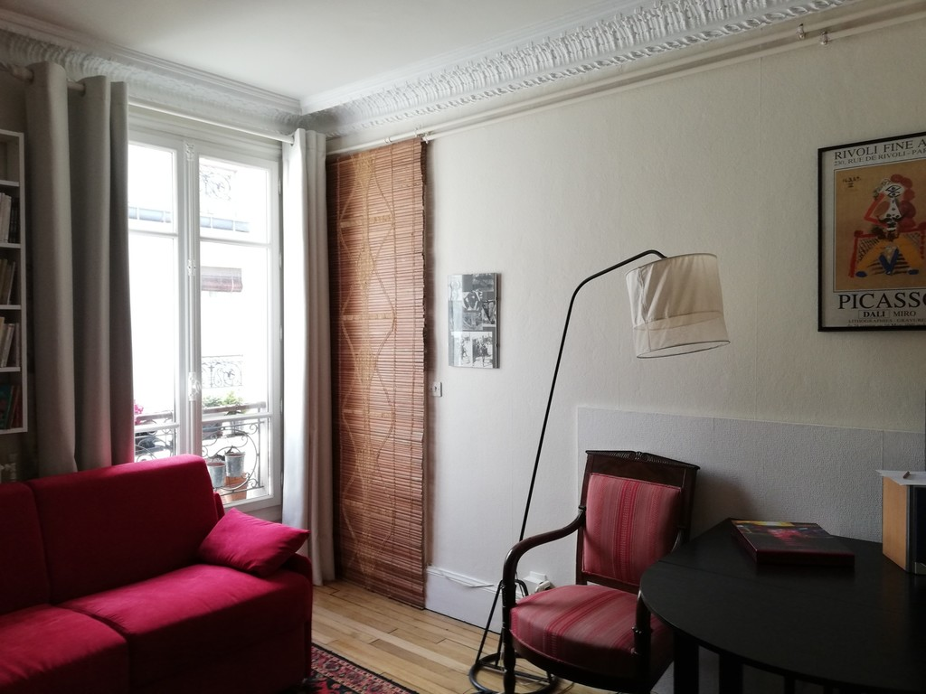 2ème chambre ouverte, avec canapé-lit