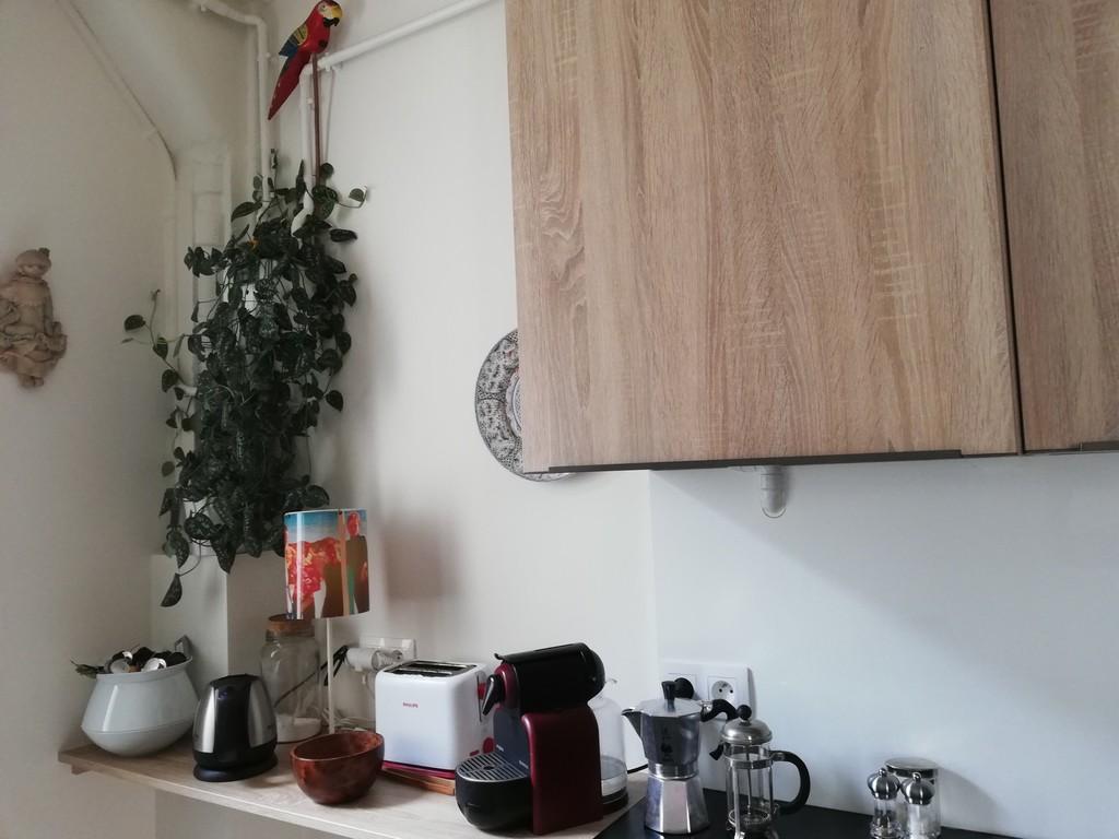 détail cuisine, cafetières au choix !