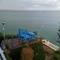 de la terrasse à la petite terrasse face à la mer
