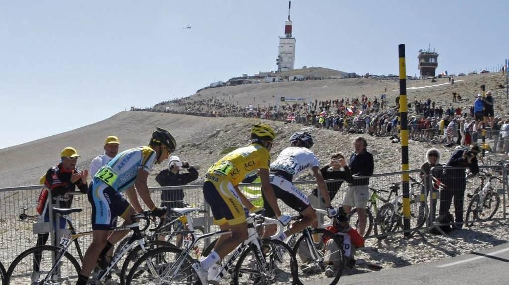 Le tour de France au Mont-Ventoux