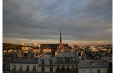 Vue sur les toits de Paris!