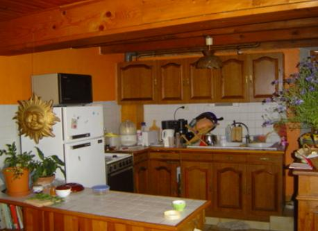 the kitchen, before alterations planned in june