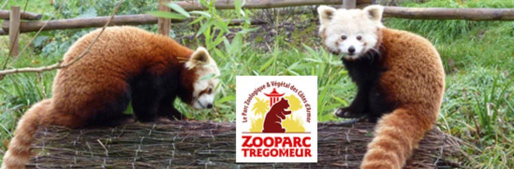 Zoo de Trégomeur à 8 km de la maison