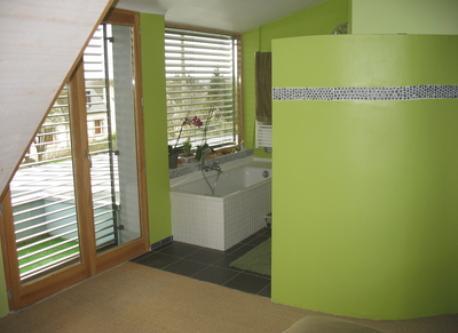 la salle de bain étage