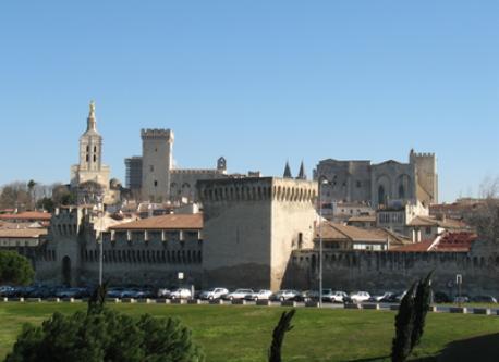 Vue d'Avignon