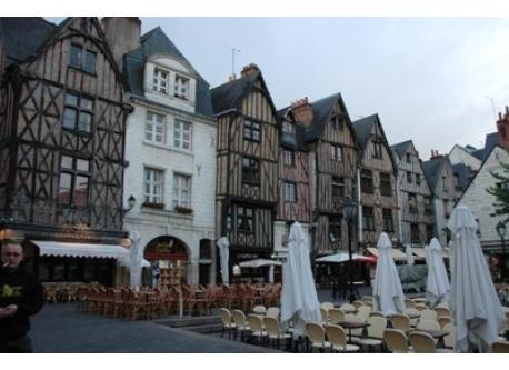 Quartier médiéval à Tours