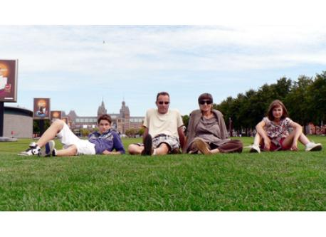 Notre famille a Amsterdam