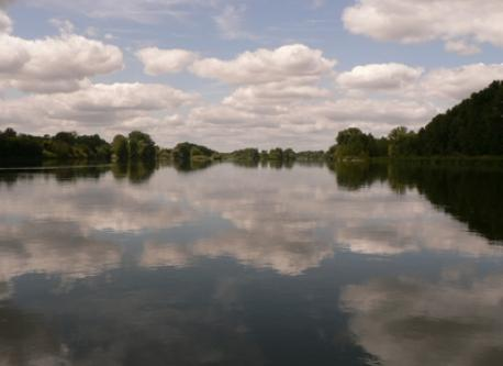 la Loire vue d'un canoë