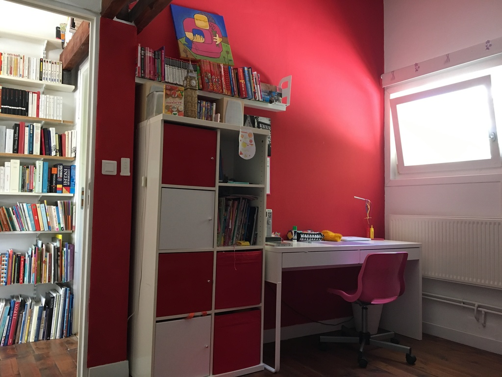 Kid room (desk and books)