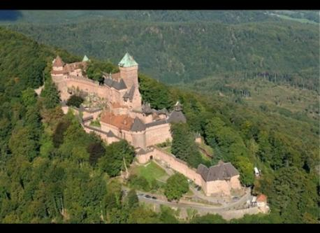 Haut Koenigsbourg, 45 minutes away