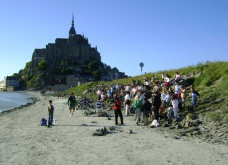 Mont St Michel (60 km far from home)