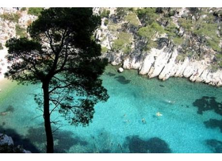 """Calanques"" between Marseille and Cassis"