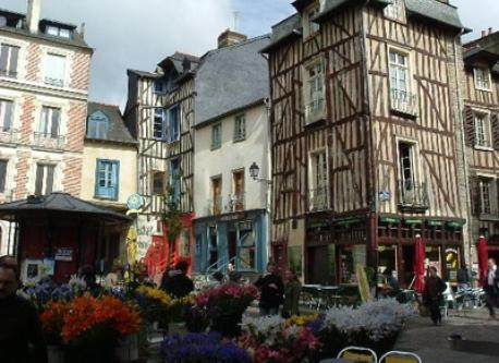 Rennes, 20minutes  by car