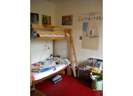 Child passby bedroom