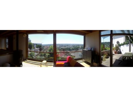 panoramic view - living room