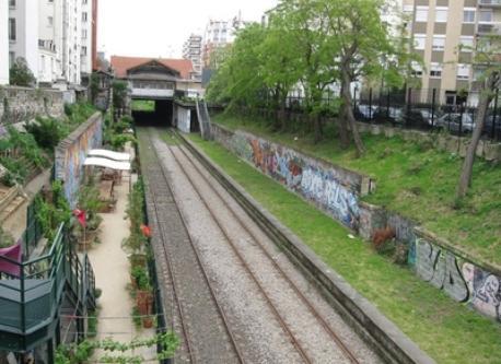 Community gardens, Porte de Clignancourt, Paris - 5 mms from home