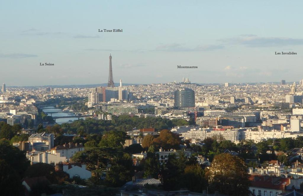 The stunning view of Paris from Meudon
