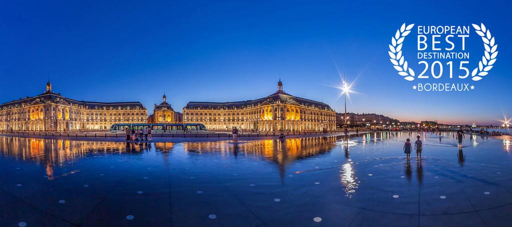 Bordeaux : Best European destination 2015 and Los Angeles Times Top Destination for 2017