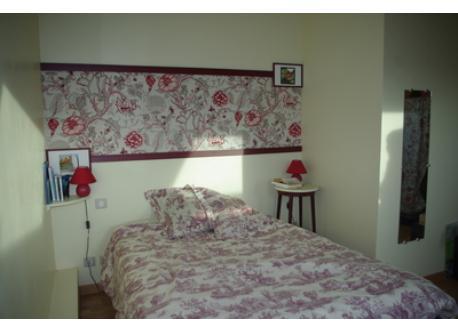 chambre, avec lit de 1m40