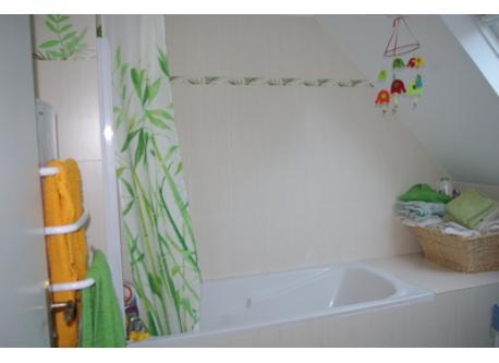 salle de bain, baignoire