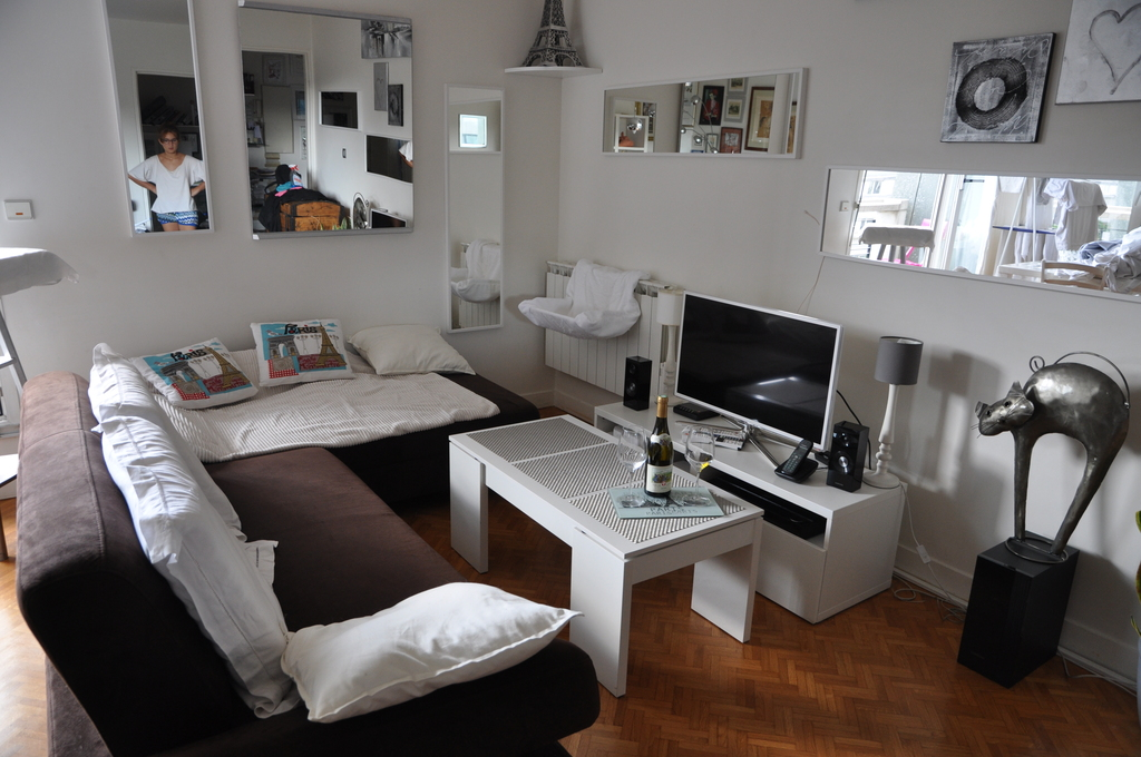 Notre salon /  The living room