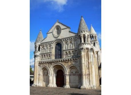 Church Notre-Dame la Grande in Poitiers