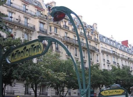 Paris Metro Station Saint Maur