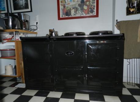 Our AGA stove!