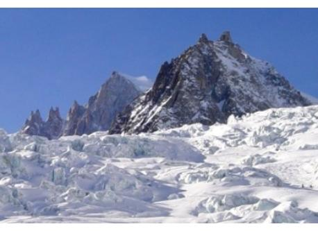 Chamonix et la mer de glace
