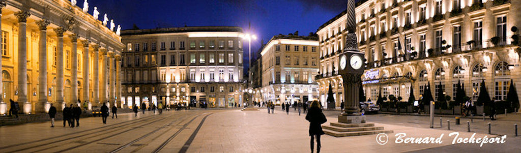 Place de la Comédie - Grand Théatre Bordeaux
