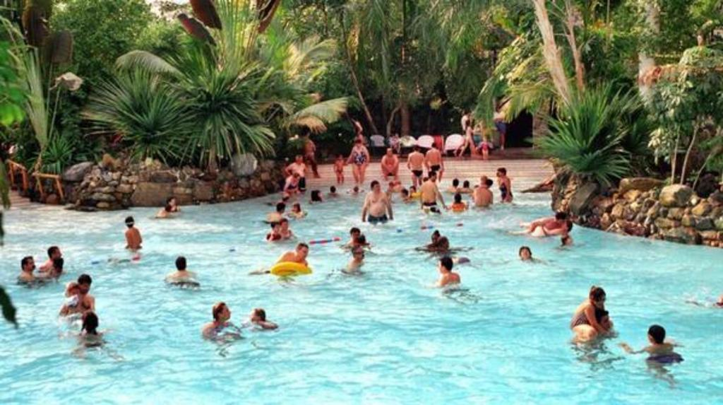 "The ""Center Parcs"" and its water park"