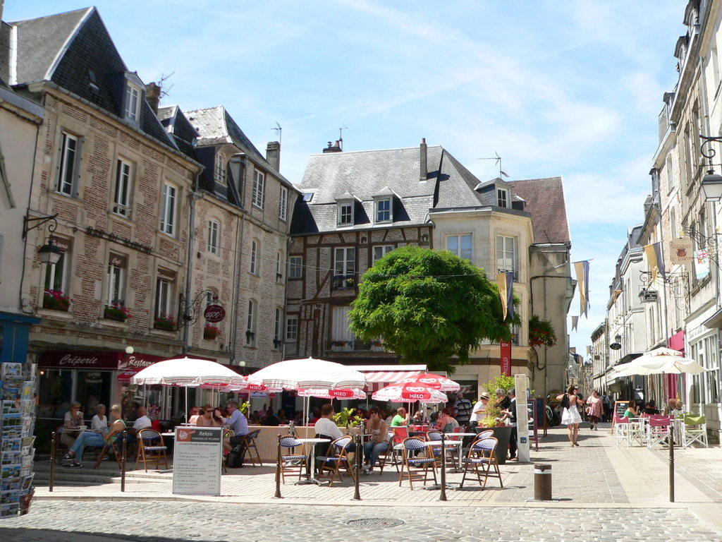 "Laon, the ""Market Place herbs"""