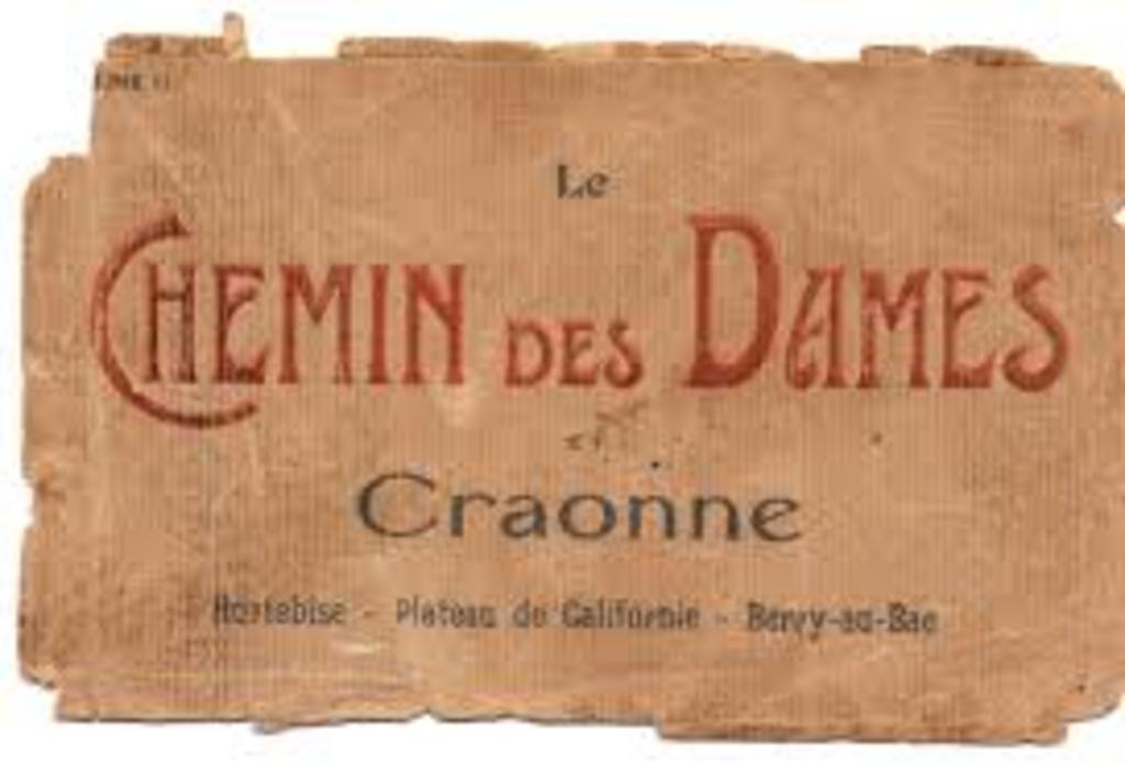 "20 minutes from Chambry, the ""Chemin des Dames"" of Craonne"